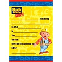 amazon co uk bob the builder invitations party supplies toys