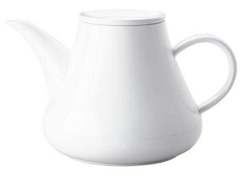 Kahla 391125A90039C Kaffee/Tee-Kanne, 1,50 L, Five Senses, weiß