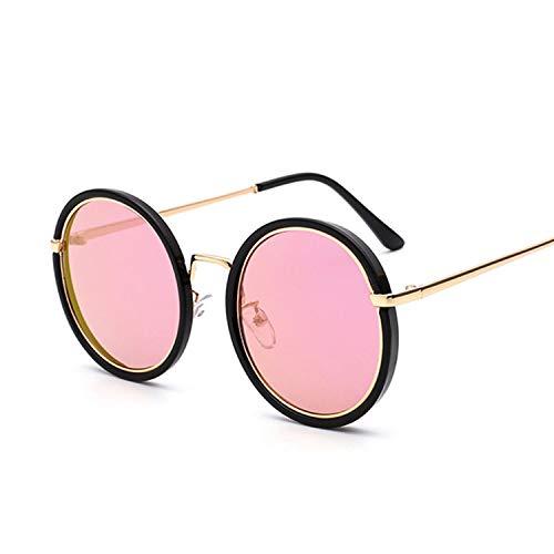 It's-ok Round Framed Sunglasses Women Men Retro Punk Steam Sunglasses UV400 Lens Sunglasses With Glassses Box,TU00704