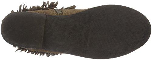 XTI - 65228, Stivali bassi con imbottitura leggera Donna Beige (tortora)