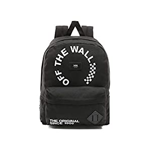 Mochila Vans Old Skool II Black/White Unisex