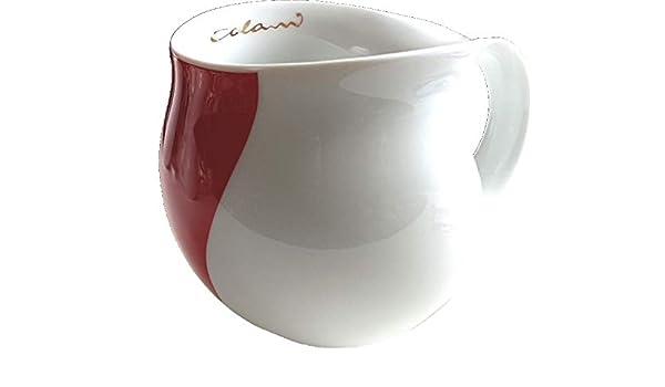 Luigi Colani dekorierte Kaffeetasse wave gold /& schwarz Kaffeebecher Tasse 280ml