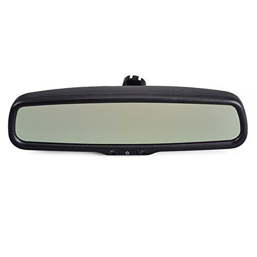 Sincero 4.3 pollici TFT LCD Car Rear view mirror display connettersi a VCD / DVD / TV / GPS della macchina fotografica di auto-oscuramento specchietto retrovisore (4303-Nero)