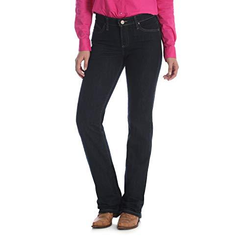 Wrangler Juniors' Q-Baby Dark Dynasty Stretch Boot Cut Jean, Dark Dynasty, 11x38 Western Bootcut Pant