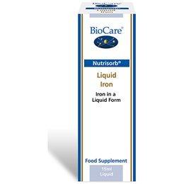 BioCare Nutrisorb Liquid Iron, 15 ml from BioCare
