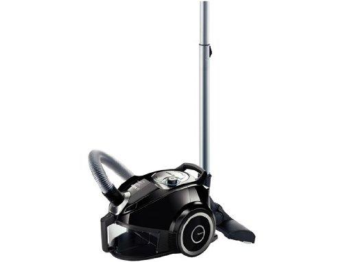 Bosch BGS41432 Bodenstaubsauger Runn'n beutellos, schwarz
