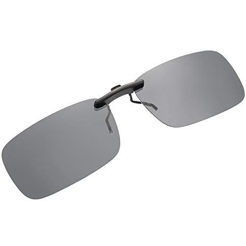 SKYSPER Sonnenbrillen, Clip On polarisierten Sonnenbrillen Stilvolle Sports