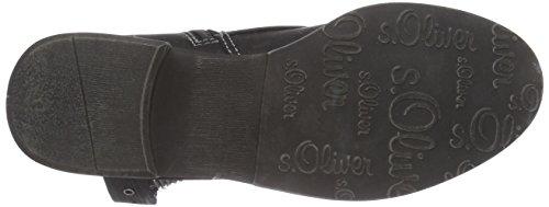 s.Oliver  2531, Bottes Classics courtes, doublure froide femmes Noir - Noir