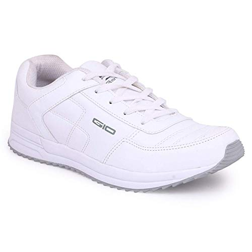 GoldStar White Color Sport Running Shoes for Men