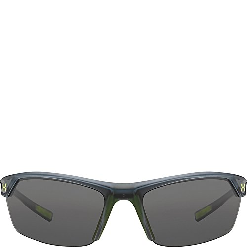 Under Armour Zone 2.0 8600050–110901 rectangulaire Lunettes de soleil Satin Crystal Gray