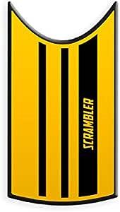 ADESIVO CUPOLINO DUCATI SCRAMBLER CUPS-001 CAF/È RACER GRAY CAMOUFLAGE