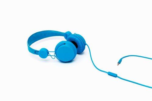 Coloud Colors Blue On-Ear Kopfhörer mit Mikrofon und Fernsteuerung (Stufenlose Größenverstellung) blau