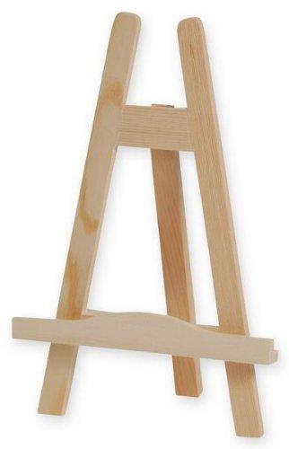 Tisch - Staffelei, 24,5 cm, 8 Stck aus Holz