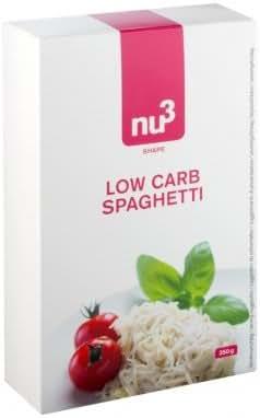 nu3 Spaghetti de Konjac Low Carb Faible en Glucides 200 g