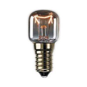 Crompton 15W SES Gap 240V klar 300°C Pygmy Ofen Lampe Herd Ersatz Glas