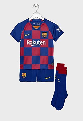 Nike 2019-2020 Barcelona Home Little Boys Mini Kit