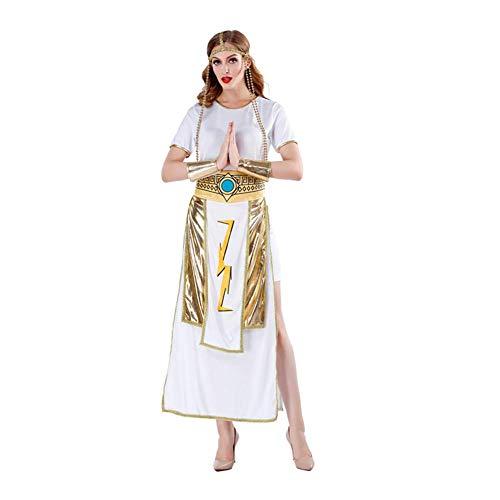 Kostüm Göttin Muster - QIAO Cosplay sexy Göttin Kostüm Halloween Cosplay Uniform