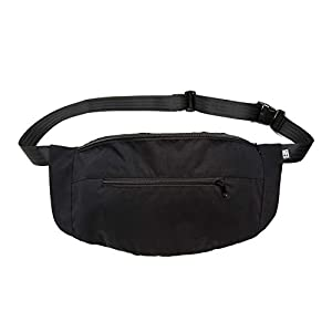 Bauchtasche large, schwarz rip stop, Hip bag, shoulder bag, fanny pack, Hüfttasche, belt bag, sac banane, cross bag