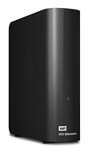 WD Elements - Disco duro externo de sobremesa de 5 TB (SATA III, 5400 rpm, USB 3.0), color negro