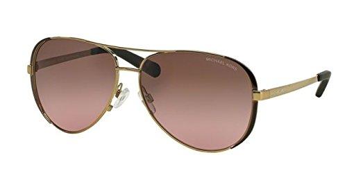 MK5004 101414 59 mm (Michael Kors Sonnenbrille Pink)