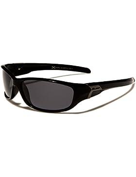 Gafas de sol depostivas de X-Loop, polarizadas, talla única para adultos, protección UV400, para hacer deportes...
