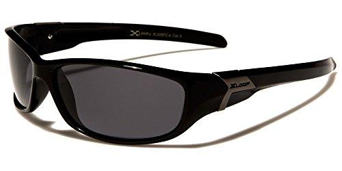 X-Loop polarizadas ciclismo y gafas de sol deportivas para adultos–talla única–UV400protección–Running/esquí/snowboard/pesca/ciclismo (con funda)