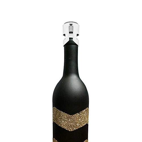 onever Edelstahl Fleck Wein Flasche Stopper fadensiegelung Wein Bar Montage Zubehör (Wein Fleck)