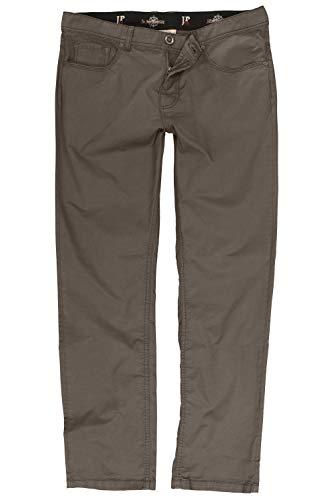 JP 1880 Herren große Größen bis 66, 5-Pocket Hose, elastischer Innenbund, Regular Fit, Reine Baumwolle Khaki 66 717157 44-66 -
