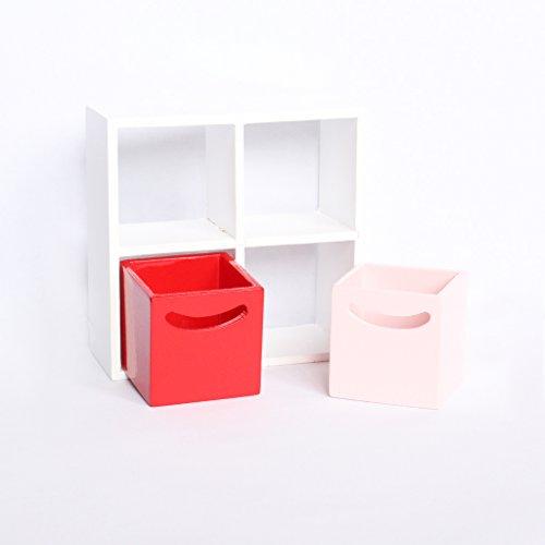 Sharplace Bambole Miniatura Mobili Armadia Scaffale Ripiano Mensola Librerie Decorazione Casa Accessori Giochi Bambini Legno