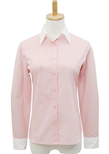 Leonis, Easy Care, camicia a maniche lunghe da donna popeline camicia a maniche lunghe in popeline Mellow Blue