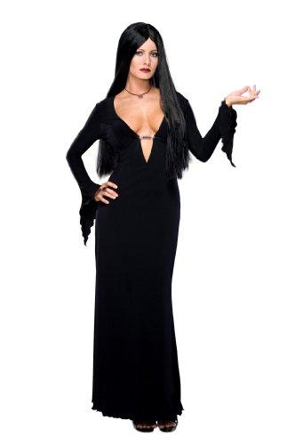 Imagen de disfraz de morticia para mujer