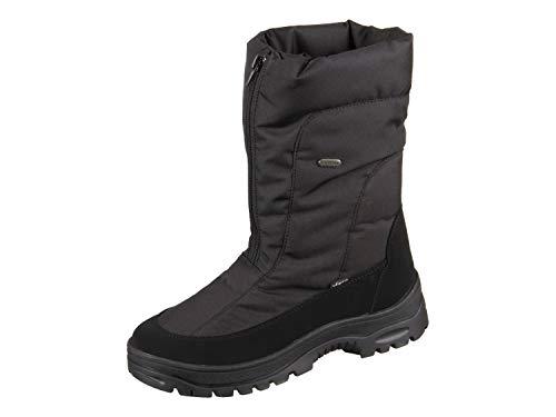 Vista Damen Winterstiefel Snowboots EISKRALLEN schwarz, Größe:41;Farbe:Schwarz