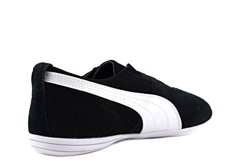 Puma Damen Schuhe / Sneaker Eskiva Low Textured Wn's Schwarz(Black)