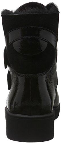 Ganter Ellen, Weite G, Bottes courtes avec doublure chaude femme Noir (antrazit / schwarz 6201)