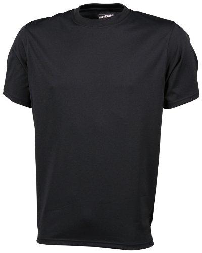 James & Nicholson Active - Camiseta para hombre, tamaño L, color negr