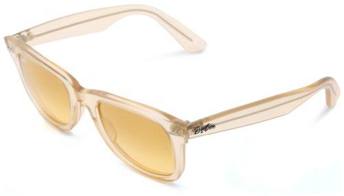 RayBan Herren Sonnenbrille Wayfarer Silber (Transparent 6059X4) 50 mm