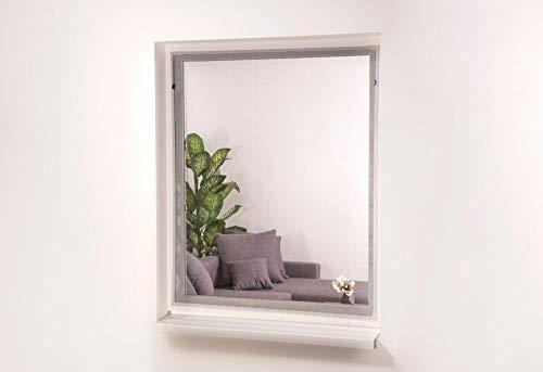 HT Magnet-Insekten-Schutz-Fenster 130 x 150 cm in Weiß