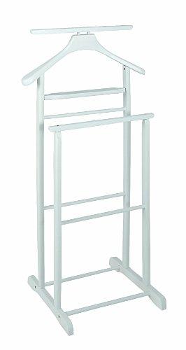 Haku-Möbel 30269 Herrendiener 47 x 36 x 102 cm, weiß