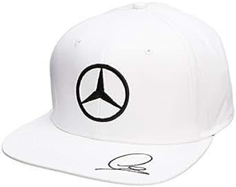 Mercedes AMG Lewis Hamilton Flat Brim Cap 2015- White