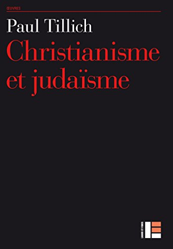 Christianisme et judaïsme par Paul Tillich