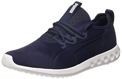 Puma Men's Peacoat White Running Shoes - 10 UK/India (44.5 EU)(4059506239403)