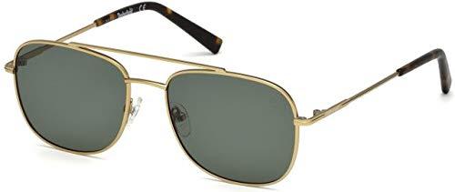 Timberland Unisex-Erwachsene Brillengestelle TB9122 32R 55, Gold (ORO\\Verde Polar)