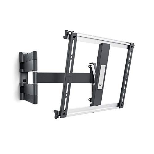 Vogel's THIN 445 TV-Wandhalterung für 66-140 cm (26-55 Zoll) Fernseher, schwenkbar und neigbar, max. 18 kg, Vesa max. 400 x 400, Schwarz -