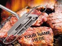 Ferro per marchiatura bistecche barbecue,iron 80,caratteri intercambiabili - Carne Branding Iron