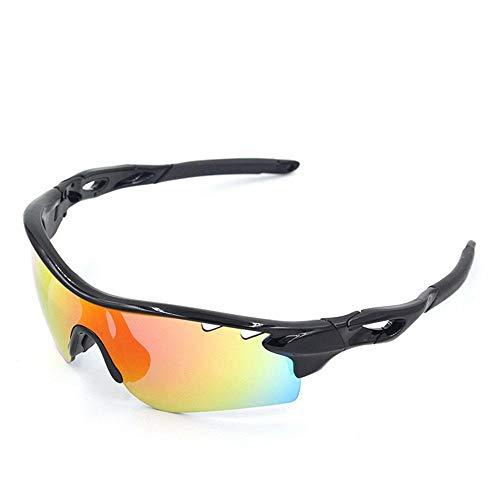 ANSKT Half Frame Anti-Fog- und Anti-UV-Reitbrille aus weichem Silikon für Jede Person