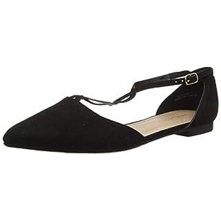 New Look Women's Kurl Closed Toe Ballet Flats, (Black 1), 5 (38 EU)