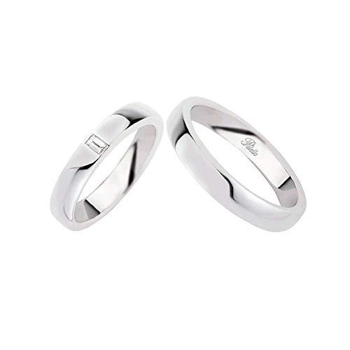 Fedi Polello In Oro Bianco 18 Kt 750/1000 Con Diamanti G1996ub-db, 16