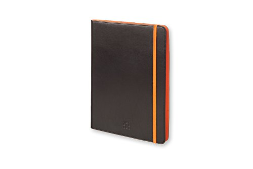 Moleskine 3700740349649 Universal Hülle für Tablet 22,9-25,4 cm (9-10 Zoll) schwarz/orange