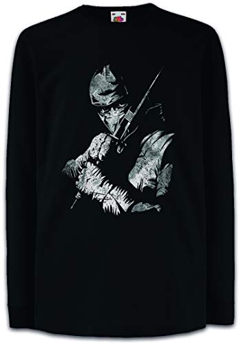 Storm Shadow Kinder Kids Mädchen Jungen Langarm T-Shirt - GI Cobra Ninja G. I. Comic Snake Eyes Agent Joe Hawk Commander
