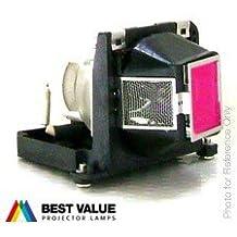 Alda PQ® - Originales lámpara de proyector/repuesto 310-7522/EC.J0300.001 para DELL 1200MP 1201MP/ACER PD115 PD123P PH112 proyectores, lámpara originales con PRO-G6s caja/titular